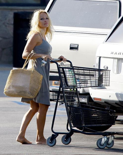 Pamela Anderson Barefoot!! - from OMG on Yahoo!