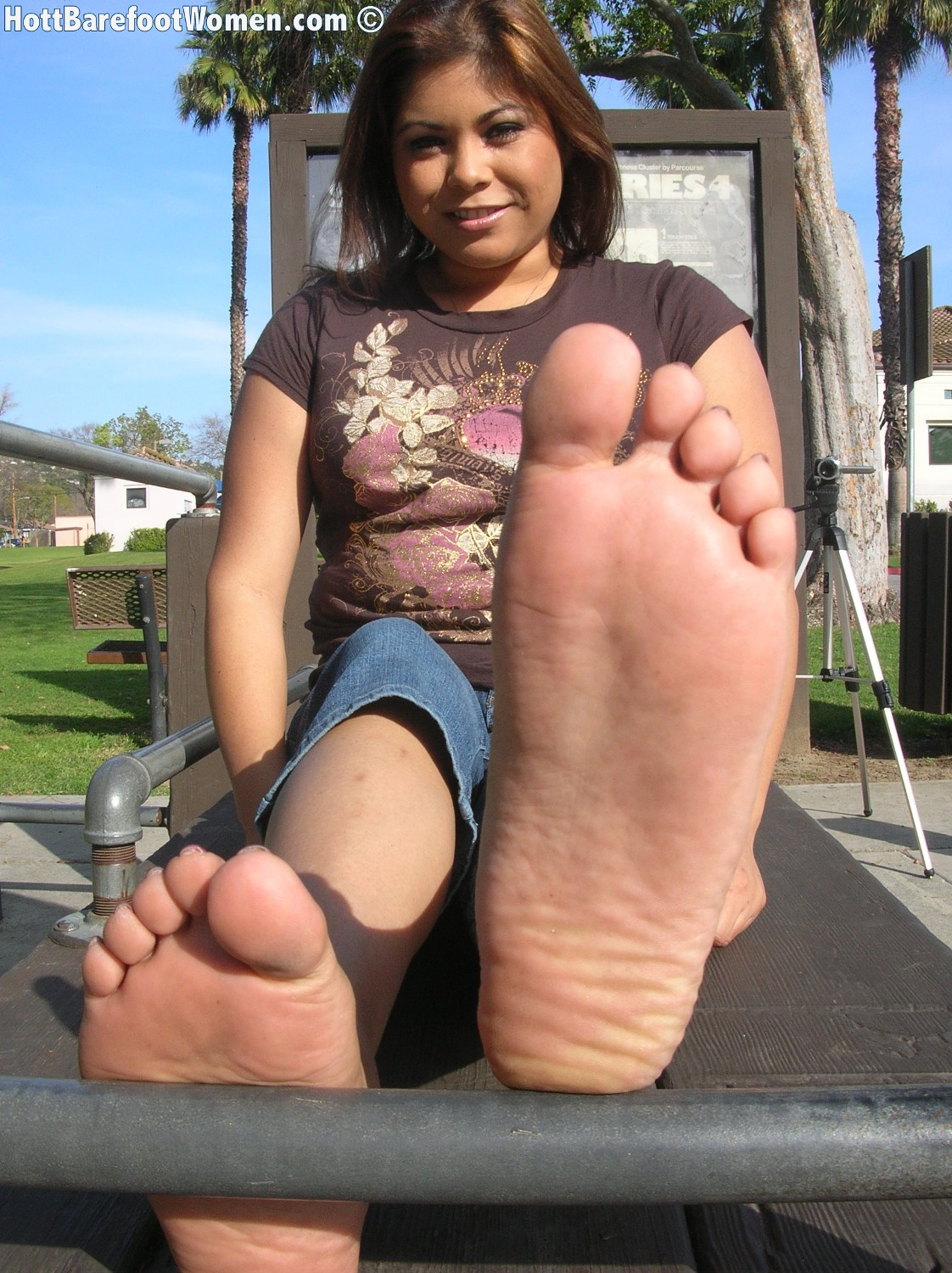 Trinidad feet fetish